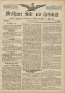 Wreschener Stadt und Kreisblatt: amtlicher Anzeiger für Wreschen, Miloslaw, Strzalkowo und Umgegend 1906.10.04 Nr116