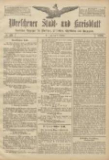 Wreschener Stadt und Kreisblatt: amtlicher Anzeiger für Wreschen, Miloslaw, Strzalkowo und Umgegend 1906.10.11 Nr119