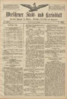Wreschener Stadt und Kreisblatt: amtlicher Anzeiger für Wreschen, Miloslaw, Strzalkowo und Umgegend 1906.10.18 Nr122