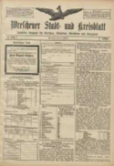 Wreschener Stadt und Kreisblatt: amtlicher Anzeiger für Wreschen, Miloslaw, Strzalkowo und Umgegend 1906.10.23 Nr124