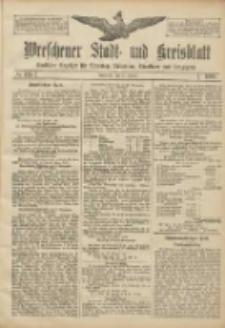 Wreschener Stadt und Kreisblatt: amtlicher Anzeiger für Wreschen, Miloslaw, Strzalkowo und Umgegend 1906.10.25 Nr125