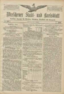 Wreschener Stadt und Kreisblatt: amtlicher Anzeiger für Wreschen, Miloslaw, Strzalkowo und Umgegend 1906.10.27 Nr126