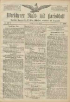 Wreschener Stadt und Kreisblatt: amtlicher Anzeiger für Wreschen, Miloslaw, Strzalkowo und Umgegend 1906.10.30 Nr127