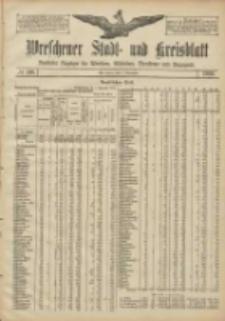 Wreschener Stadt und Kreisblatt: amtlicher Anzeiger für Wreschen, Miloslaw, Strzalkowo und Umgegend 1906.11.03 Nr129
