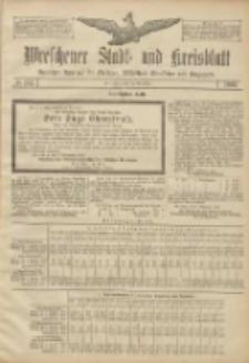 Wreschener Stadt und Kreisblatt: amtlicher Anzeiger für Wreschen, Miloslaw, Strzalkowo und Umgegend 1906.11.10 Nr132