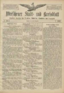 Wreschener Stadt und Kreisblatt: amtlicher Anzeiger für Wreschen, Miloslaw, Strzalkowo und Umgegend 1906.11.13 Nr133