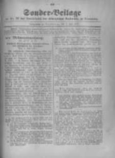 Amtsblatt der Königlichen Preussischen Regierung zu Bromberg. 1917.07.07 No.27