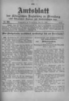 Amtsblatt der Königlichen Preussischen Regierung zu Bromberg. 1917.07.21 No.29