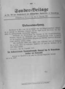 Amtsblatt der Königlichen Preussischen Regierung zu Bromberg. 1917.12.29 No.52