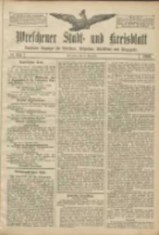 Wreschener Stadt und Kreisblatt: amtlicher Anzeiger für Wreschen, Miloslaw, Strzalkowo und Umgegend 1906.11.15 Nr134