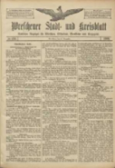 Wreschener Stadt und Kreisblatt: amtlicher Anzeiger für Wreschen, Miloslaw, Strzalkowo und Umgegend 1906.11.20 Nr136