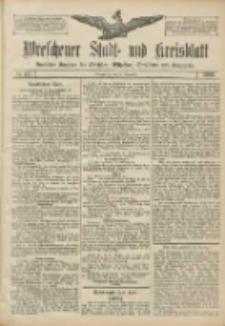 Wreschener Stadt und Kreisblatt: amtlicher Anzeiger für Wreschen, Miloslaw, Strzalkowo und Umgegend 1906.11.21 Nr137
