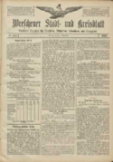 Wreschener Stadt und Kreisblatt: amtlicher Anzeiger für Wreschen, Miloslaw, Strzalkowo und Umgegend 1906.12.01 Nr141