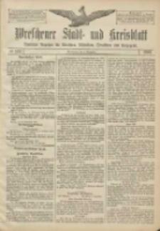 Wreschener Stadt und Kreisblatt: amtlicher Anzeiger für Wreschen, Miloslaw, Strzalkowo und Umgegend 1906.12.04 Nr142