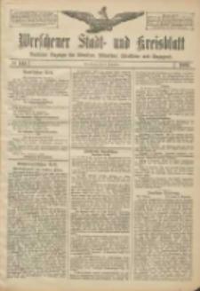 Wreschener Stadt und Kreisblatt: amtlicher Anzeiger für Wreschen, Miloslaw, Strzalkowo und Umgegend 1906.12.08 Nr144