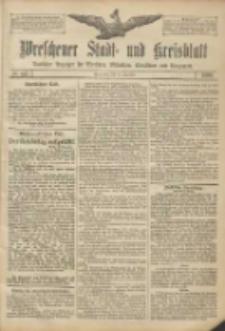 Wreschener Stadt und Kreisblatt: amtlicher Anzeiger für Wreschen, Miloslaw, Strzalkowo und Umgegend 1906.12.15 Nr147