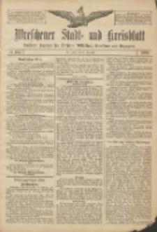 Wreschener Stadt und Kreisblatt: amtlicher Anzeiger für Wreschen, Miloslaw, Strzalkowo und Umgegend 1906.12.25 Nr151