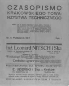 Czasopismo Krakowskiego Towarzystwa Technicznego. 1917 R.1 nr2
