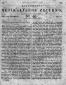Allgemeine Musikalische Zeitung. 1817 no.46