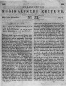 Allgemeine Musikalische Zeitung. 1828 no.52