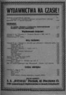 Kierownik Stowarzyszeń Młodzieży. 1929 R.8 nr8