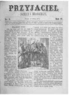 Przyjaciel Dzieci i Młodzieży: pismo obrazkowe. 1872 R.4 nr3