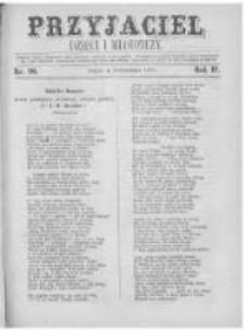 Przyjaciel Dzieci i Młodzieży: pismo obrazkowe. 1872 R.4 nr20