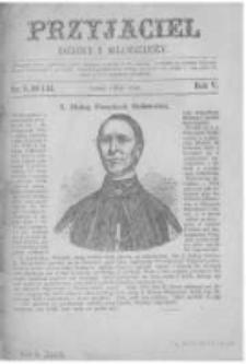 Przyjaciel Dzieci i Młodzieży: pismo obrazkowe. 1873 R.5 nr9,10 i 11