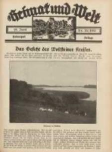 Heimat und Welt: Heimatpost: Beilage 1933.06.10 Nr23