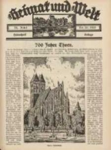 Heimat und Welt: Heimatpost: Beilage 1933.06.24 Nr25