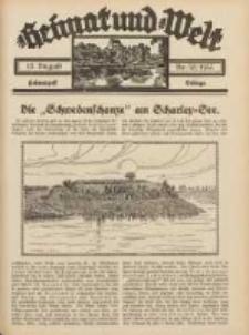 Heimat und Welt: Heimatpost: Beilage 1933.08.12 Nr32