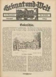 Heimat und Welt: Heimatpost: Beilage 1934.12.15 Nr50