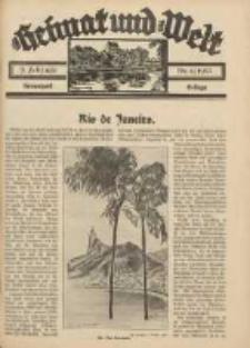 Heimat und Welt: Heimatpost: Beilage 1935.02.09 Nr6