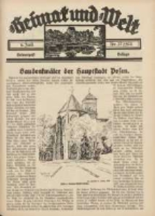 Heimat und Welt: Heimatpost: Beilage 1935.07.06 Nr27