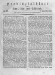 Provinzialblatt für Kur-, Liv- und Esthland. 1837.12.09 No49