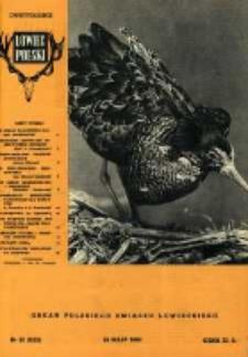 Łowiec Polski 1960 Nr10