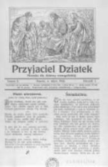 Przyjaciel Dziatek: pisemko dla dziatwy ewangelickiej. 1926 R.3 nr2
