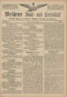 Wreschener Stadt und Kreisblatt: amtlicher Anzeiger für Wreschen, Miloslaw, Strzalkowo und Umgegend 1907.08.29 Nr103