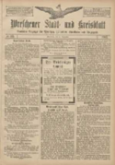 Wreschener Stadt und Kreisblatt: amtlicher Anzeiger für Wreschen, Miloslaw, Strzalkowo und Umgegend 1907.09.21 Nr113