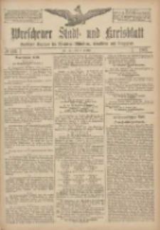 Wreschener Stadt und Kreisblatt: amtlicher Anzeiger für Wreschen, Miloslaw, Strzalkowo und Umgegend 1907.10.12 Nr122