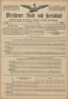 Wreschener Stadt und Kreisblatt: amtlicher Anzeiger für Wreschen, Miloslaw, Strzalkowo und Umgegend 1907.10.24 Nr127