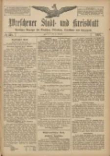 Wreschener Stadt und Kreisblatt: amtlicher Anzeiger für Wreschen, Miloslaw, Strzalkowo und Umgegend 1907.10.26 Nr128