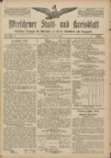 Wreschener Stadt und Kreisblatt: amtlicher Anzeiger für Wreschen, Miloslaw, Strzalkowo und Umgegend 1907.10.29 Nr129