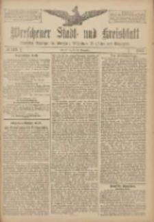 Wreschener Stadt und Kreisblatt: amtlicher Anzeiger für Wreschen, Miloslaw, Strzalkowo und Umgegend 1907.11.30 Nr143