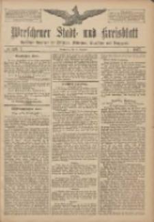 Wreschener Stadt und Kreisblatt: amtlicher Anzeiger für Wreschen, Miloslaw, Strzalkowo und Umgegend 1907.12.12 Nr148