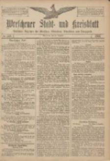 Wreschener Stadt und Kreisblatt: amtlicher Anzeiger für Wreschen, Miloslaw, Strzalkowo und Umgegend 1907.12.14 Nr149
