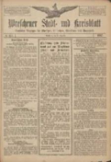 Wreschener Stadt und Kreisblatt: amtlicher Anzeiger für Wreschen, Miloslaw, Strzalkowo und Umgegend 1907.12.19 Nr151