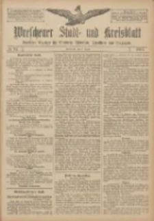 Wreschener Stadt und Kreisblatt: amtlicher Anzeiger für Wreschen, Miloslaw, Strzalkowo und Umgegend 1907.08.08 Nr94