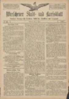 Wreschener Stadt und Kreisblatt: amtlicher Anzeiger für Wreschen, Miloslaw, Strzalkowo und Umgegend 1907.08.10 Nr95