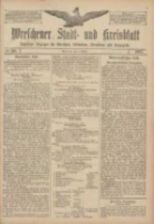 Wreschener Stadt und Kreisblatt: amtlicher Anzeiger für Wreschen, Miloslaw, Strzalkowo und Umgegend 1907.10.03 Nr118